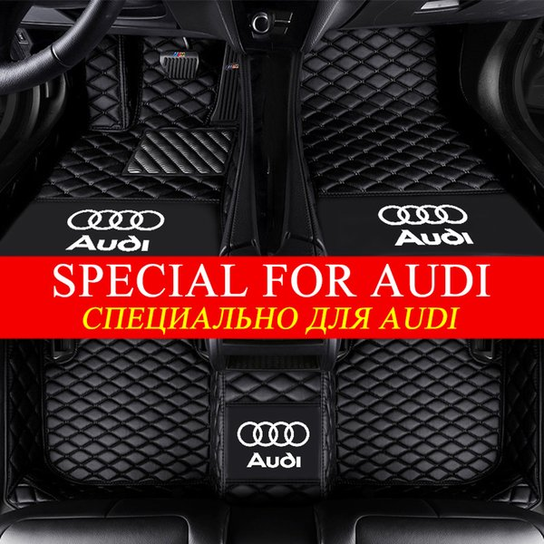 best selling 5D Fashion Luxury Surround Custom Fit Car Floor Mats for Audi A1 A3 A4 A5 A6 A7 A8 Q3 Q5 Q7 RS4 RS5 RS5 RS6 RS7 TT S3 S4 S5 S6 S7 S8 SQ5
