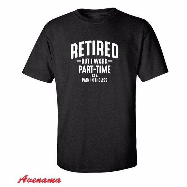 Camisa aposentada engraçada dos homens T - presente de aniversário da aposentadoria para ele avô do pai