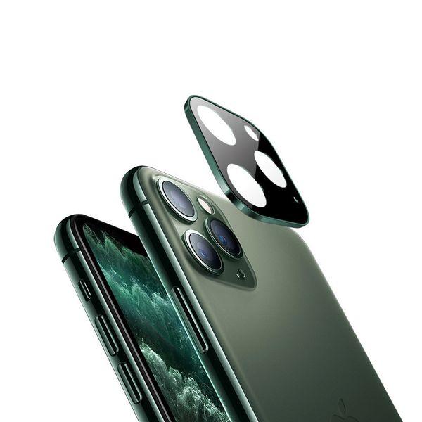 per iPhone 11 copertina Rullino vetro temperato Pro Schermo Lens Max Camera Protector Full Titanio con la scatola di vendita al dettaglio