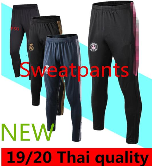 best selling 2020 2021long pants 2019 2020 marseille aJ soccer pants Real Madrid MBAPPE chandal futbol air jogging paris soccer trousers