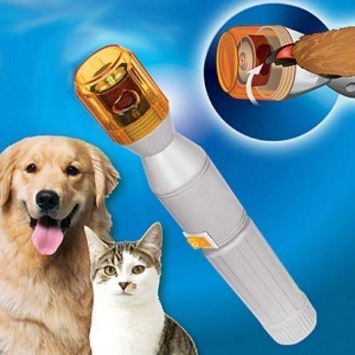 Pet Dog Cat Nail Trimmer Grooming Tool Care Grinder Electric Clipper Kit Dog Grooming zhao