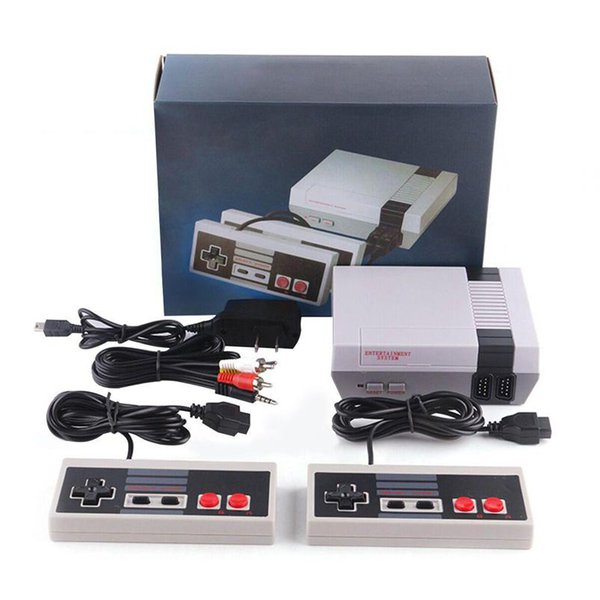 top popular New Arrival Nes Mini TV Can Store 620 500 Portable Game Players Console Video Handheld For NES Games Consoles Wth Retail Box Package 2020