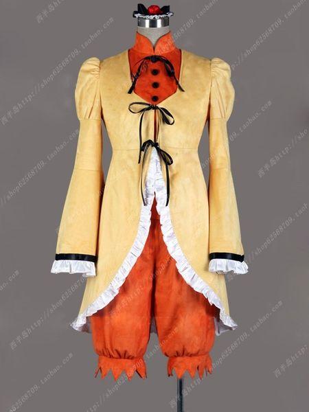 anime adultos Peach-Pi t Rozen Maiden Cosplay ropa Disfraz de Halloween para disfraces Kimono Traje Delantal Vestido Adulto Hombres Mujeres Halloween