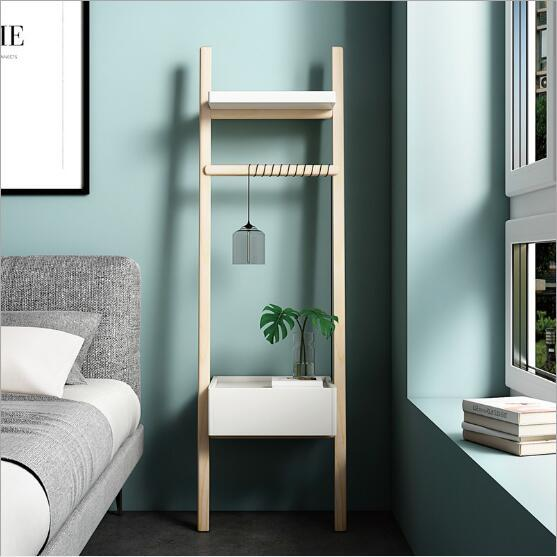 2019 Bedside Storage Cabinet Nordic Small Household Simple Ladder ...