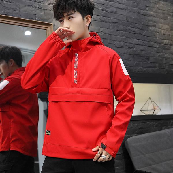 2019 весна осень куртка мужская тонкая куртка мужское пальто уличная одежда Lover одежда ветровка человек хип-хоп бомбардировщик