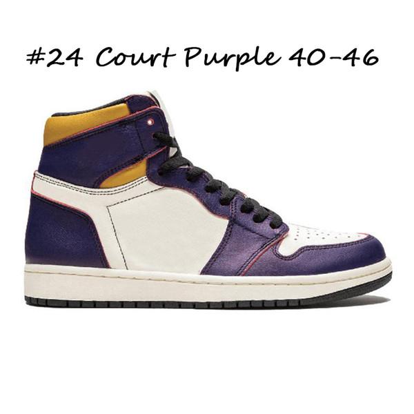 #24 Court Purple 40-46