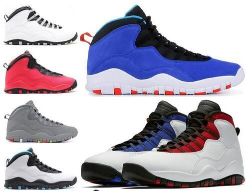 2019 Tinker Huarache Light 10s Basketball Shoes Cement 10 Westbrook I'm back White Black Cool Grey Bobcats Steel Grey Men sports Sneakers