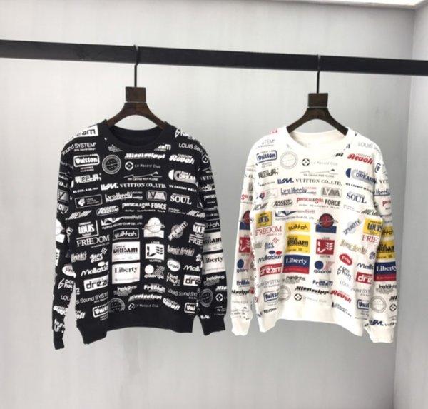 2020 nuovo delle donne degli uomini Sweatershirts lettera stampata casuale pullover superiore tuta sportiva della molla autunno Maglioni intero Colth Stampa TR B104522V