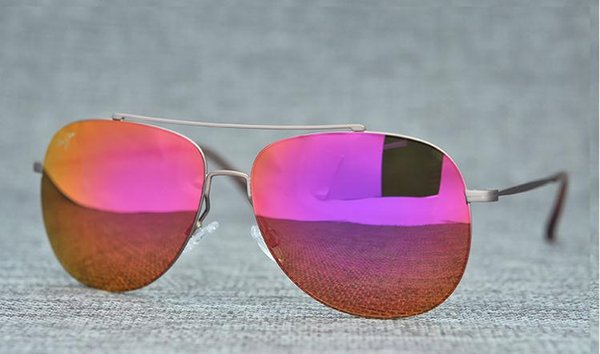 brown frame lila rote Linse