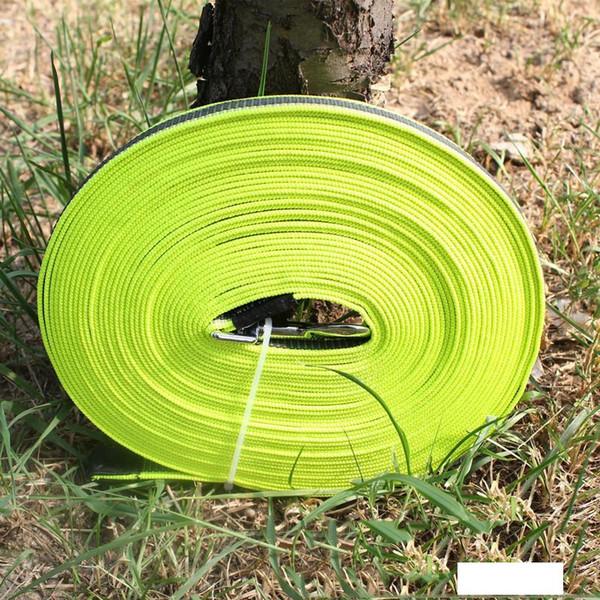 Нескользящие Обучение поводки для собак Pet Supplies 5 10 15 метров Веревка Нейлон собак Поводки собак Pet Поводки Pet продукта