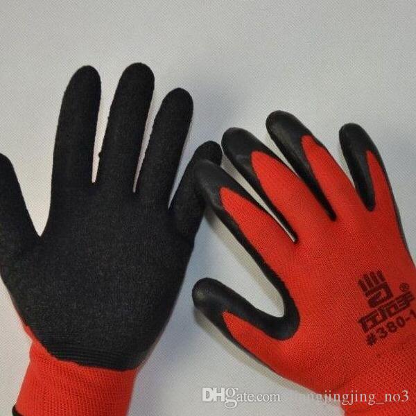 Gli ultimi guanti da lavoro I guanti da lavoro neri e rossi più venduti Guanti da lavoro di sicurezza Guanti sportivi meccanici EEA18