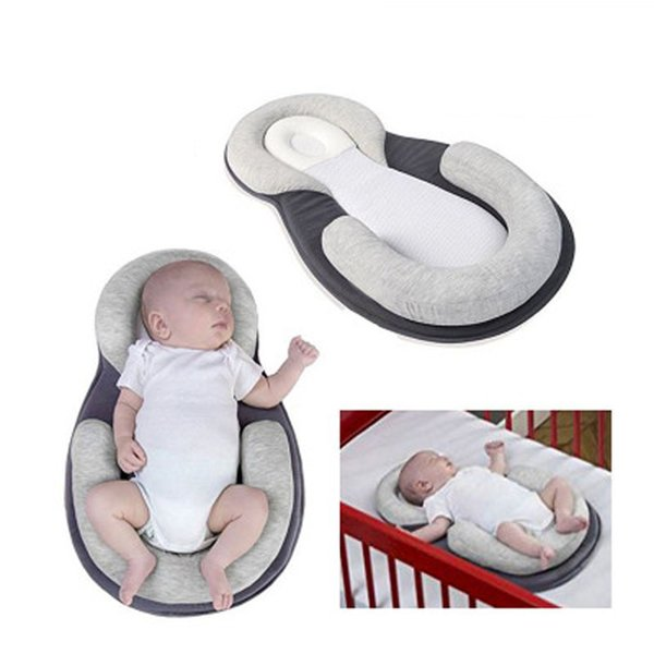 Portable Baby Bed Baby Nest Bedding Crib Soft Cotton Babynest Bed Infant Nets Cradle Cot Mattress Pillow Suit For 0-3 Year