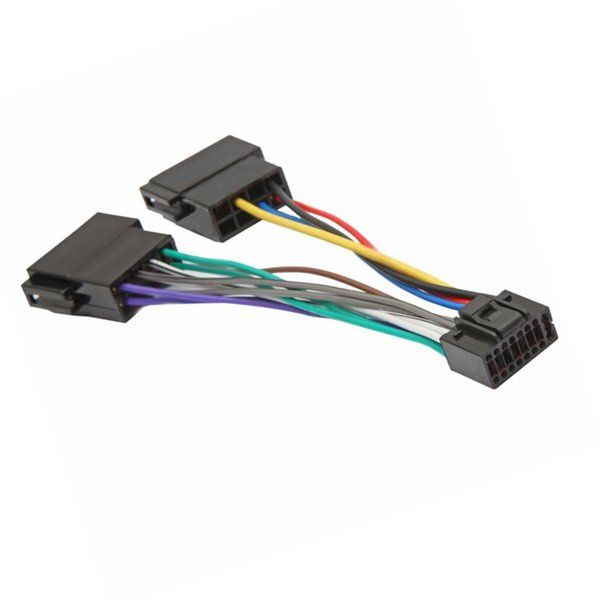 2019 Biurlink For Kenwood JVC 16Pin ISO Wiring Harness Connector  on trailer wiring harness, jvc car stereo gauges, jvc car stereo connectors, car audio wiring harness, jvc kw avx710 manual, jvc kdx 250, jvc car stereo faceplate, jvc wiring harness adapter, jvc kd s28 wiring-diagram, jvc harness diagram, radio wiring harness, jvc car stereo wire colors, pioneer wiring harness, jvc wiring harness color coating, jvc cd receiver manual, jvc car stereo manual, jvc car speaker, painless wiring harness, jvc support,