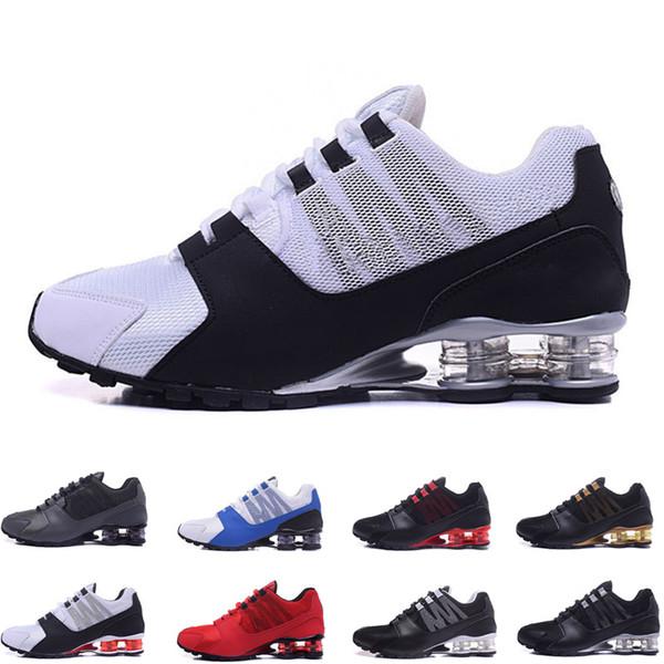 2019 Mens Shox Avenue 802 803 Freizeitschuhe Chuassures Shox Nz Schuhe Top Qualität Nz Sportschuhe Größen EU40-46