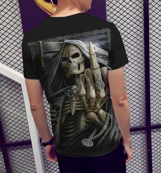 YENI kısa kollu 3d baskılı erkekler için t gömlek Casual yaz t gömlek erkekler / kadınlar giyim artı boyutu marka Tee Q1 Tops