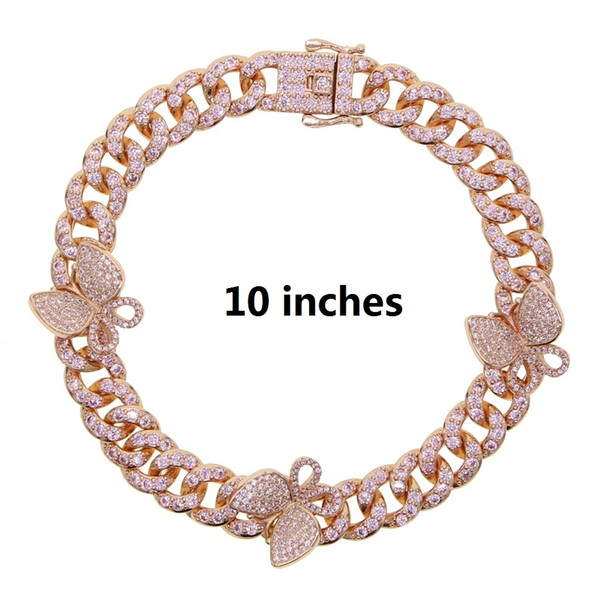 cavigliera colore rosa 25 centimetri
