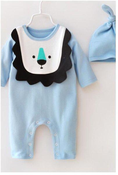 Ins Baby cute style для размера 3, 6 9 месяцев BABY BOY и birls pers чистый хлопок хорошее качество 2 конструкции могут выбирать