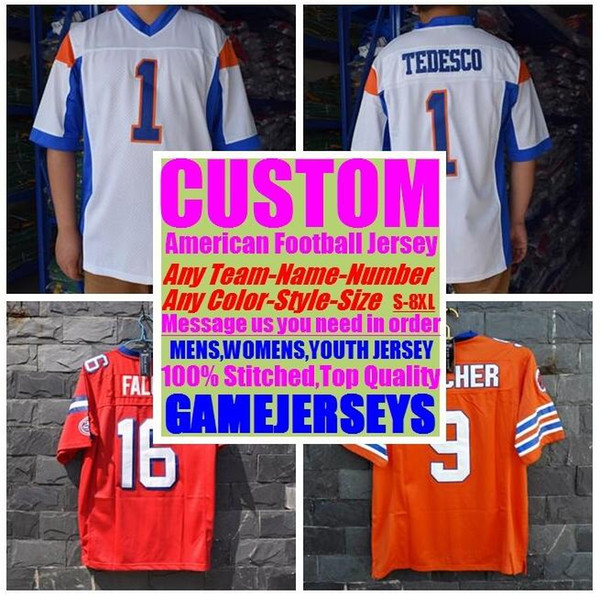 top popular Customized american Football jerseys college cheap authentic vapor untouchable sports jersey stitched mens woman youth kids 4xl 5xl 6xl 7xl 2019