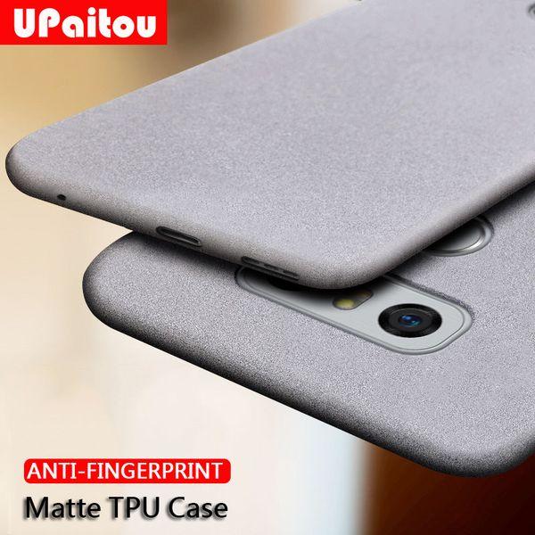 Upaitou case para lg g7 plus g8 v40 v30 fino g6 g6 g4 q6 q8 anti impressão digital case macio fosco ultra fino tpu capa g8 dois câmera