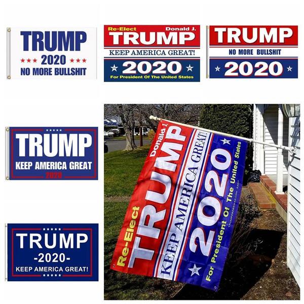 90 * 150 cm Trump 2020 bandeira Donald Trump bandeira manter a América grande Donald para o Presidente USA-1