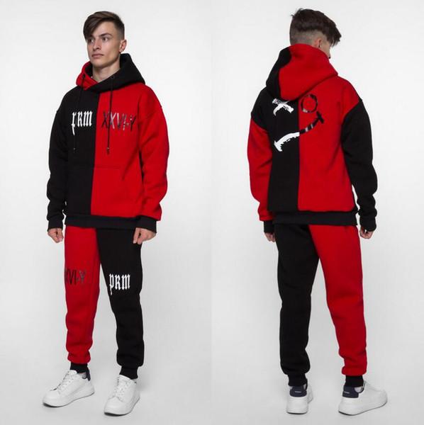 Men Designer Tracksuits Brand Sportswear Hoodies+Pants Autumn Winter Jogger Sporting Suit Men and women Sweat Suits #1991##