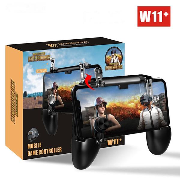 W11 + PUBG мобильный геймпад джойстик Metalen L1 R1 триггер игры шутер контроллер для iPhone Android телефон игровой геймпад
