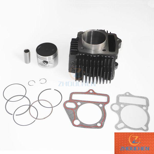 55mm 1P55FMJ 140cc Lifan cylindre Kit, moto segment de piston assemblage bloc-cylindres de joint d'ensemble, les pièces de moteur atv de vélo de fosse