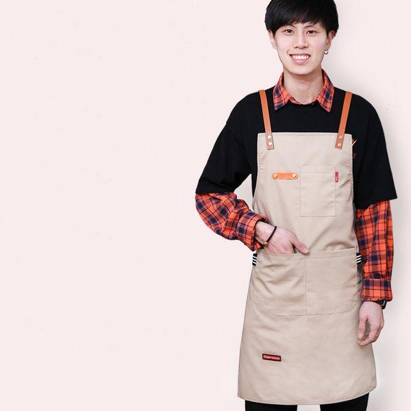 Senyue coreano loja de moda leite cabeleireiro flor artista homens e mulheres roupas de trabalho loja de café logotipo personalizado