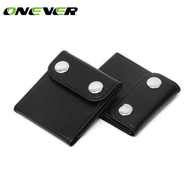 Shoulder Strap Positioner PU Leather Car Seatbelt Adjuster Seat Belt Clip