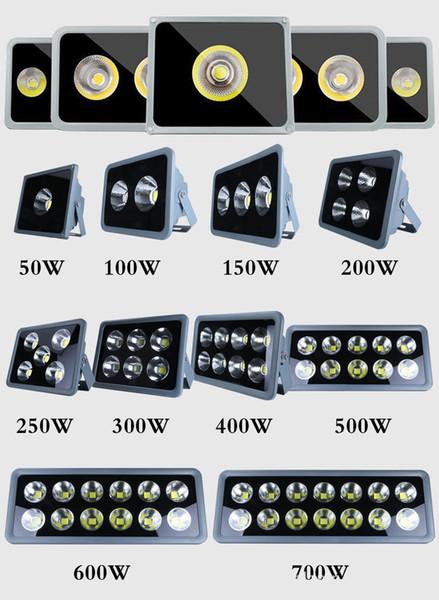 COB Illuminazione per esterni LED colorato Floodlight Faretto Luci di inondazione 100W 200W 300W 400W 500W 600W RGB Bianco freddo Giardino Luce