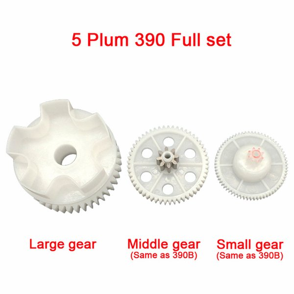 5 Plum 390 Full set