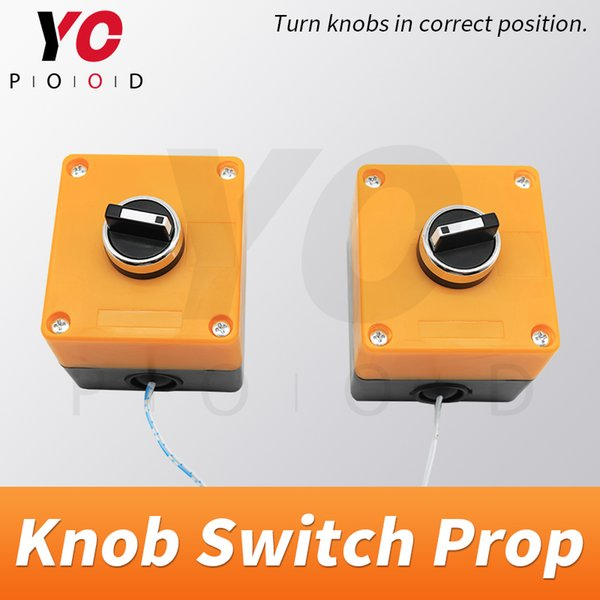 Knob Switches escape room prop turn knobs to right position to open magnet lock console switch real takagism game supply YOPOOD