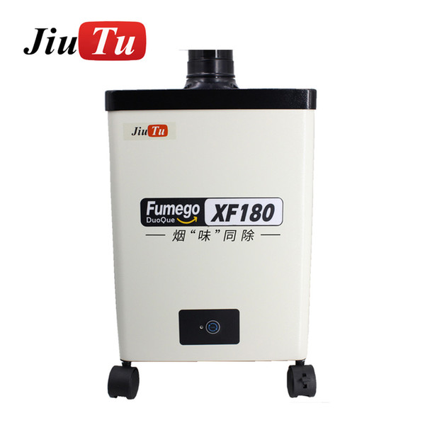 best selling 150W Beauty Nail Salon Smoke Absorber Portable DIY Solder Fume Extractors With Extra Filter Combination For Fiber Laser Machine