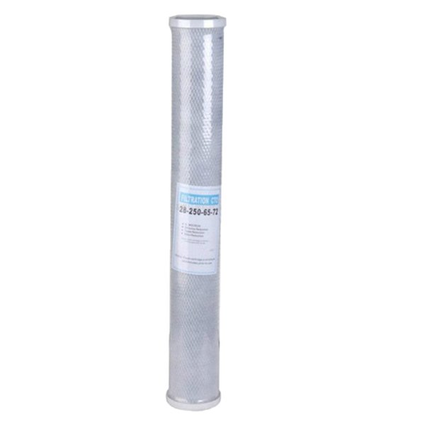 best selling Replacement Activated Carbon 20 inch Water Filter Reduce Chlorine Whole House CTO