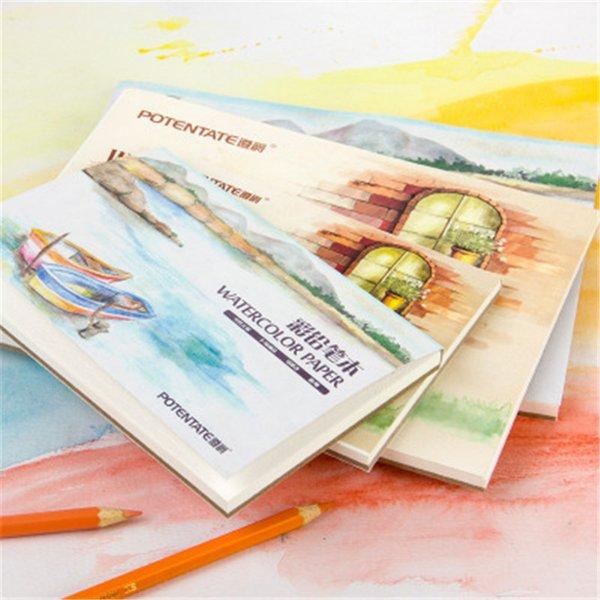 Compre Lápiz A Color Libro Acuarela Dibujos Para Colorear Cuaderno Para El Diseñador De Arte Estudiante Dibujo Pintura útiles Escolares A 435 Del