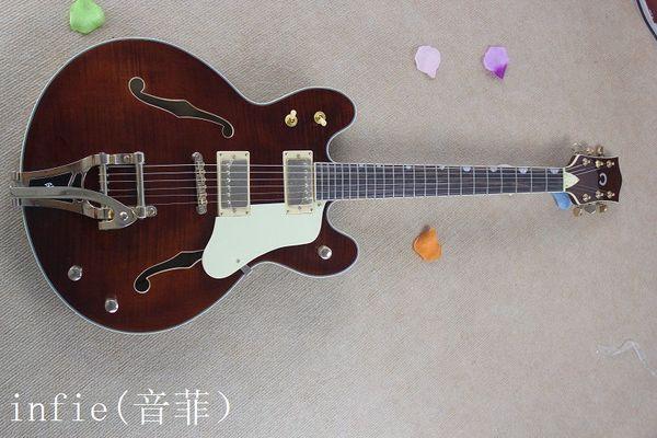 Бесплатная доставка новый продукт электрогитары белый тремоло система горячая новая гитара