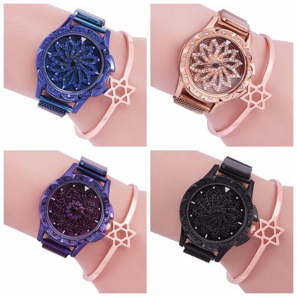 131 2020, lorsque le même type de filet rouge, tournez pour révolutionner la mode tendance des montres pour femmes. Bracelet de montres Students'iron avec pierre, montres à quartz