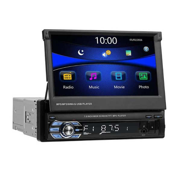 7 inch Car MP5 Player With GPS Navigation Bluetooth Hands-free RDS AM FM Radio SWM 9601G Upgraded