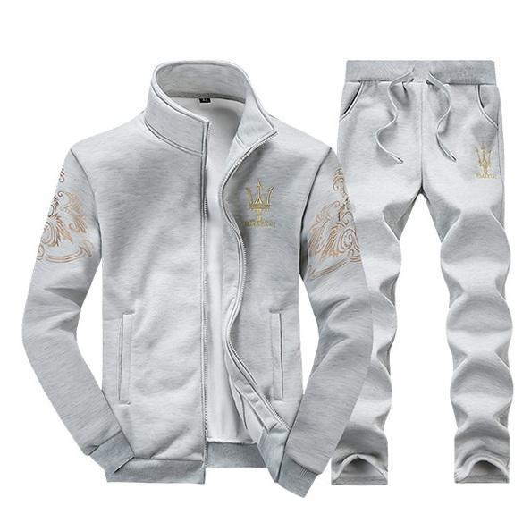 Moda para hombre Chándal de lujo Maserati Sportwear Primavera Otoño Mangas largas Chaquetas casuales Con pantalones jogger casuales Trajes de sudor Homme
