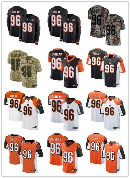 2019 personalizado qualquer numa melhor número jersey Desgaste Cincinnati 96 Carlos Dunlap Bengals homens / mulheres / juventude vermelho ursos McManis Jerseys s-xxxxl
