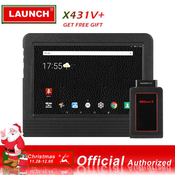 Avvia X431 V + Full System Diagnostic OBD2 Android Wifi Tablet Scanpad Scan Tool con 2 anni di aggiornamento online DBScarII Bluetooth