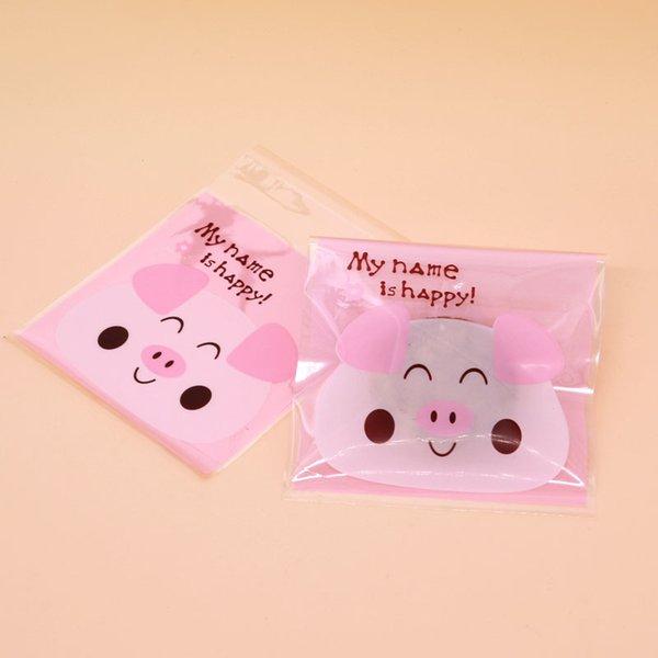 rosa glückliches Schwein
