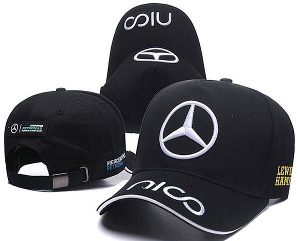 Neueste Top Qualität knochen gorras Hysteresenhut F1 Meister Racing Sport AMG Automobile Trucker Männer Hüte