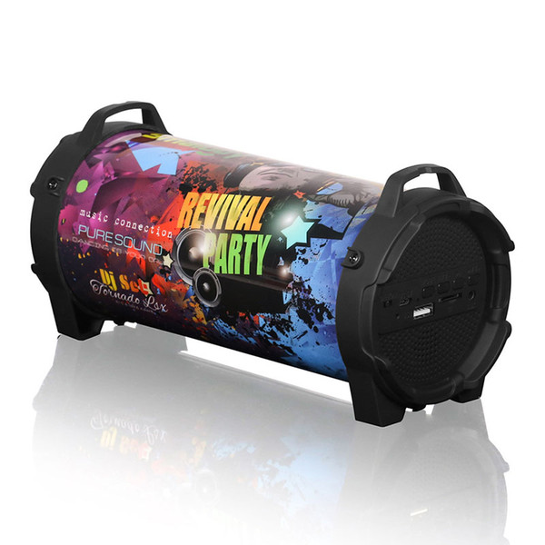 577B Subwoofer Dual Driver FM Radio Multifunction Bluetooth Speakers Outdoor
