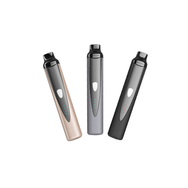 Vaporsource Mini Titan dry herb baking atomizer vape mods kit 1300mah battery with 3 temperature control ceramic heating chamber vaporizer