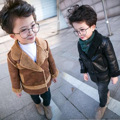 baby clothing kids clothes Infant Boys kids wear Children clothing boy windbreaker jacket 2019 new autumn and winter girls jacket long