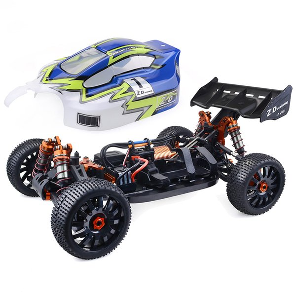 1/8 Skala 2,4 GHz Drahtlose Fernbedienung RC Auto 112 km / h 4WD Brushless Buggy 120A ESC 4274 Brushless Motor RC Racing Drift Auto