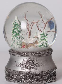 Unexpected beauty Fresh, elegant and loving Christmas Tree Copper Wire Glass Snowflake Crystal Ball Childlike memories