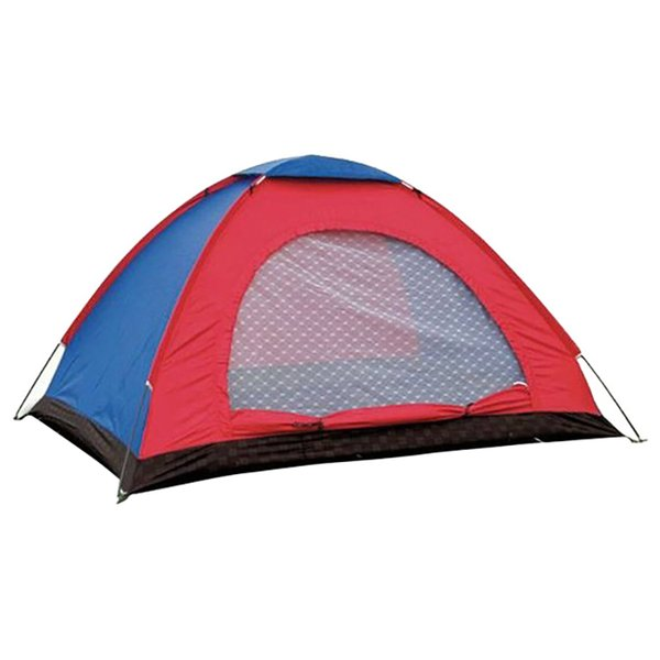 For 1/2/3-4/6 Person Camping Tent Single Layer Waterproof Windproof Sunshade Outdoor Driving Camping Accessories