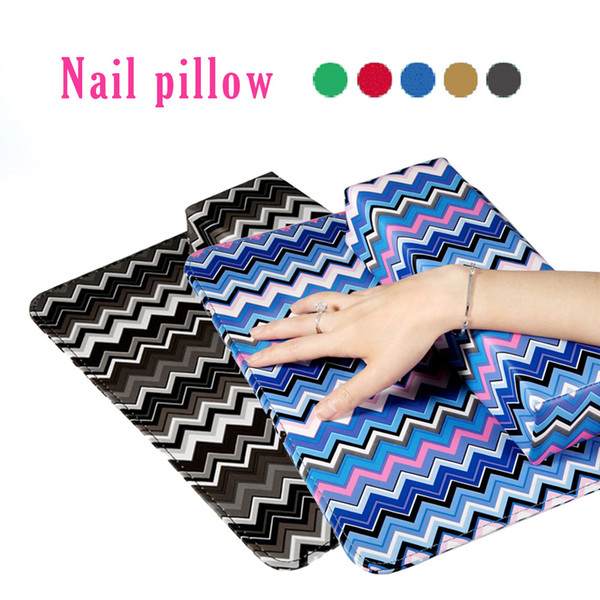 kanbuder Nail Hand 1PC Colorful Pillow Hand Holder Cushion Pillow Nail Arm Towel Rest Manicure pad dropship ap25